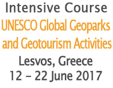 Intensive Course on Geoparks – UNESCO Global Geoparks and Geotourism Activities