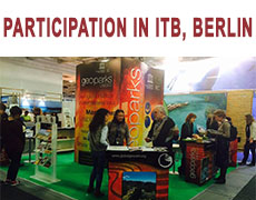 Participation in the ITB – The world's leading travel trade show: a 6-year networking experience to promote our common GEOPARK brand