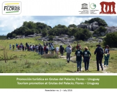 Grutas del Palacio Geopark Newsletter July 2016