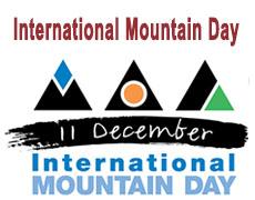 International Mountain Day11 December 2017