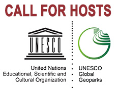 CALL FOR HOSTS OF THE 9TH INTERNATIONAL CONFERENCE ON UNESCO GLOBAL GEOPARKS IN 2020
