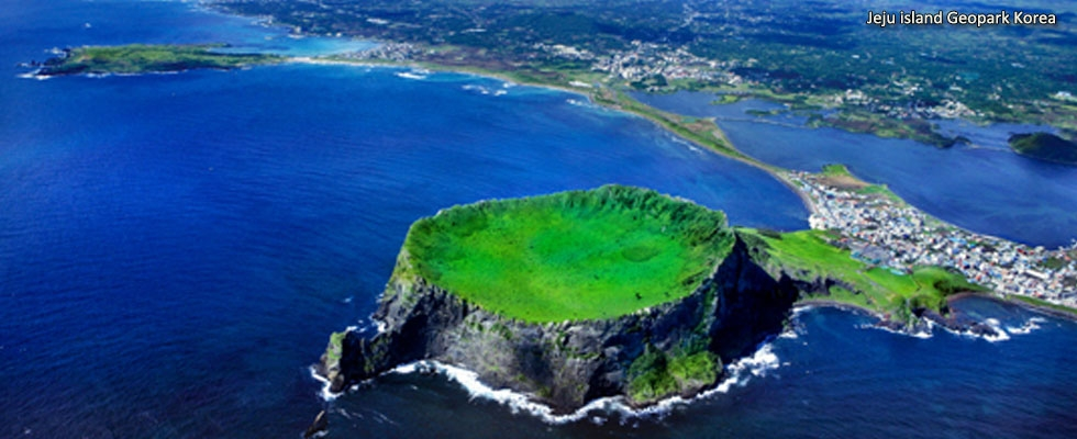 Jeju island Geopark Κorea