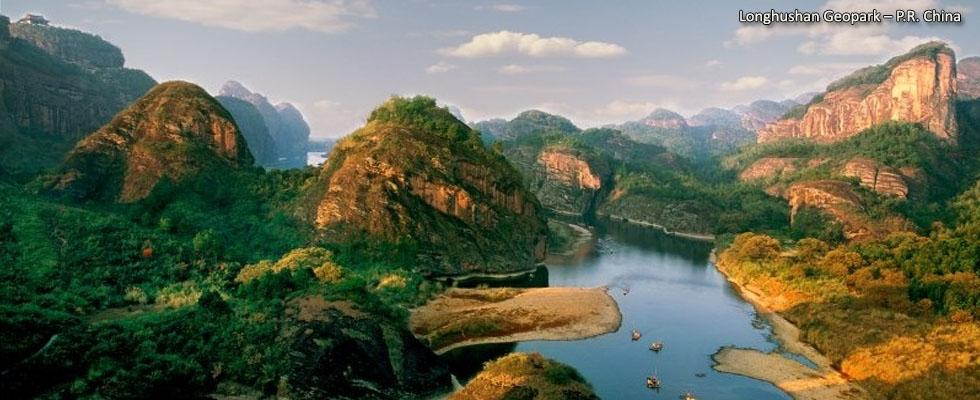 Longhushan Geopark – P.R. China