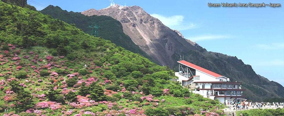 Unzen Volcanic Area Geopark – Japan