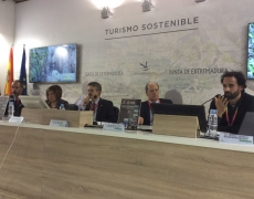 Presentation of GGN and the new Book of the Spanish UNESCO Global Geoparks in FITUR Madrid