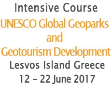 International Ιntensive Course on Geoparks – UNESCO Global Geoparks and Geotourism Development