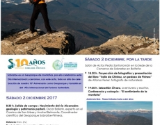 International Day of the mountains in the UNESCO World Sobrarbe-Pirineos Geopark | Saturday, December 2, 2017