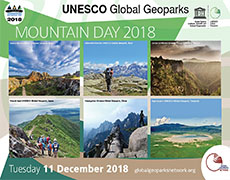 UNESCO Global Geoparks celebrate International Mountain Day 2018