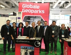UNESCO Global Geoparks Promotion and Activities  in ITB Berlin 6-10 March 2019