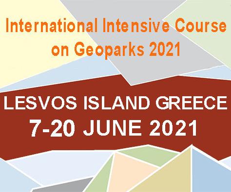 International Intensive Course on Geoparks7-20 June 2021