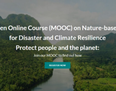 MOOC on Nature-based solutions for disaster and climate resilienceFriday, 22 January 2021