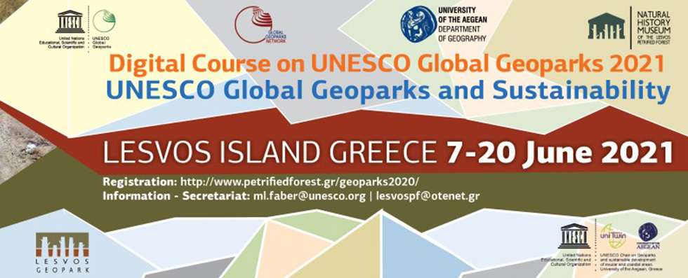 DIGITAL COURSE ON GEOPARKS 2021