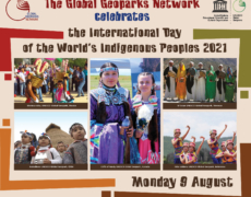 THE GLOBAL GEOPARKS NETWORK andthe UNESCO GLOBAL GEOPARKS celebrate theINTERNATIONAL DAY OF THE WORLD'S INDIGENOUS PEOPLES9th August 2021